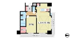 ベリスタ神戸旧居留地 18Fの間取
