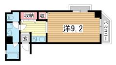 シティライフ六甲道Ⅲ 401の間取