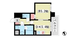 プリオーレ神戸新開地 202の間取