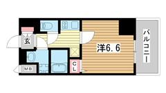 プレサンス神戸元町ミューズ 302の間取