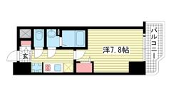 ララプレイス ザ・神戸シルフ 301の間取