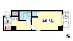 ライオンズスクエア神戸元町 201の間取