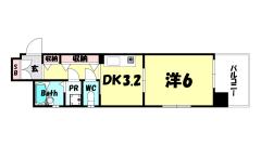 プレサンス新神戸 405の間取