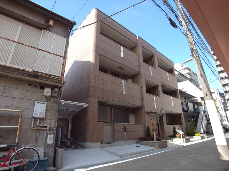物件番号: 1025862154 アヴァンティ三宮  神戸市中央区二宮町2丁目 1LDK マンション 外観画像