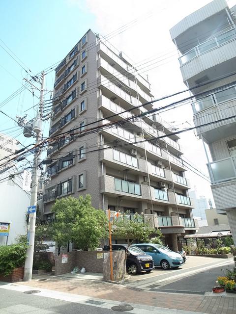 物件番号: 1025883990 リブコート中山手通  神戸市中央区中山手通4丁目 2LDK マンション 外観画像