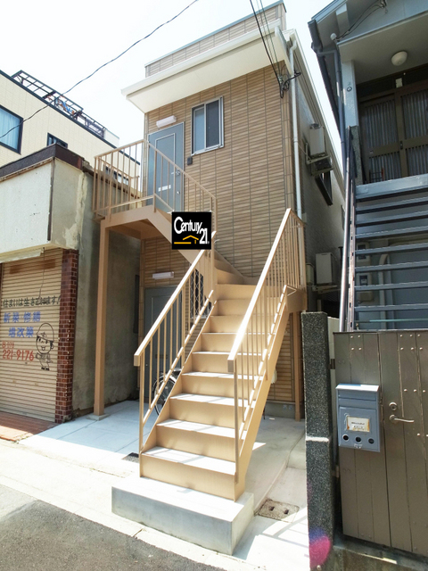 物件番号: 1025855557 リバーライスⅠ  神戸市中央区旗塚通2丁目 1DK ハイツ 外観画像