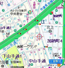 物件番号: 1025875485 中一東ビル  神戸市中央区中山手通1丁目 3DK マンション 画像1
