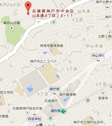 物件番号: 1025856518 サンシャイン山ノ手  神戸市中央区山本通4丁目 2DK アパート 画像2