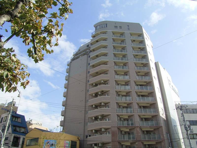 物件番号: 1025883292 ロイヤルヒル神戸三ノ宮Ⅱ  神戸市中央区加納町3丁目 2DK マンション 外観画像