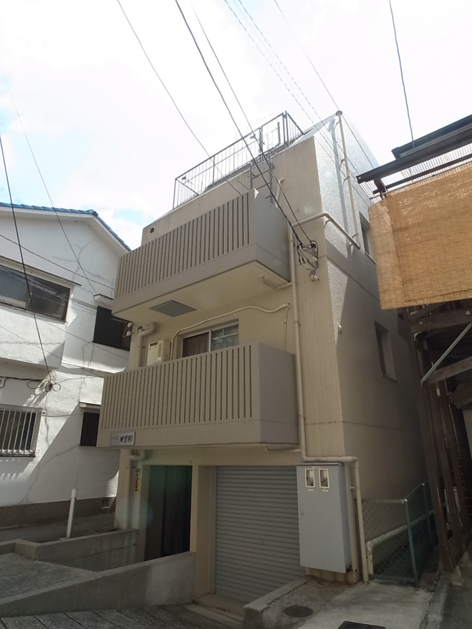 物件番号: 1025802830 シティライフ相楽園  神戸市中央区山本通5丁目 1DK マンション 外観画像