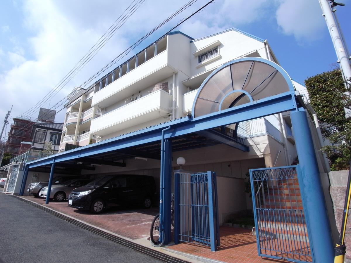 物件番号: 1025805225 マーキス・リー  神戸市中央区山本通3丁目 1LDK マンション 外観画像