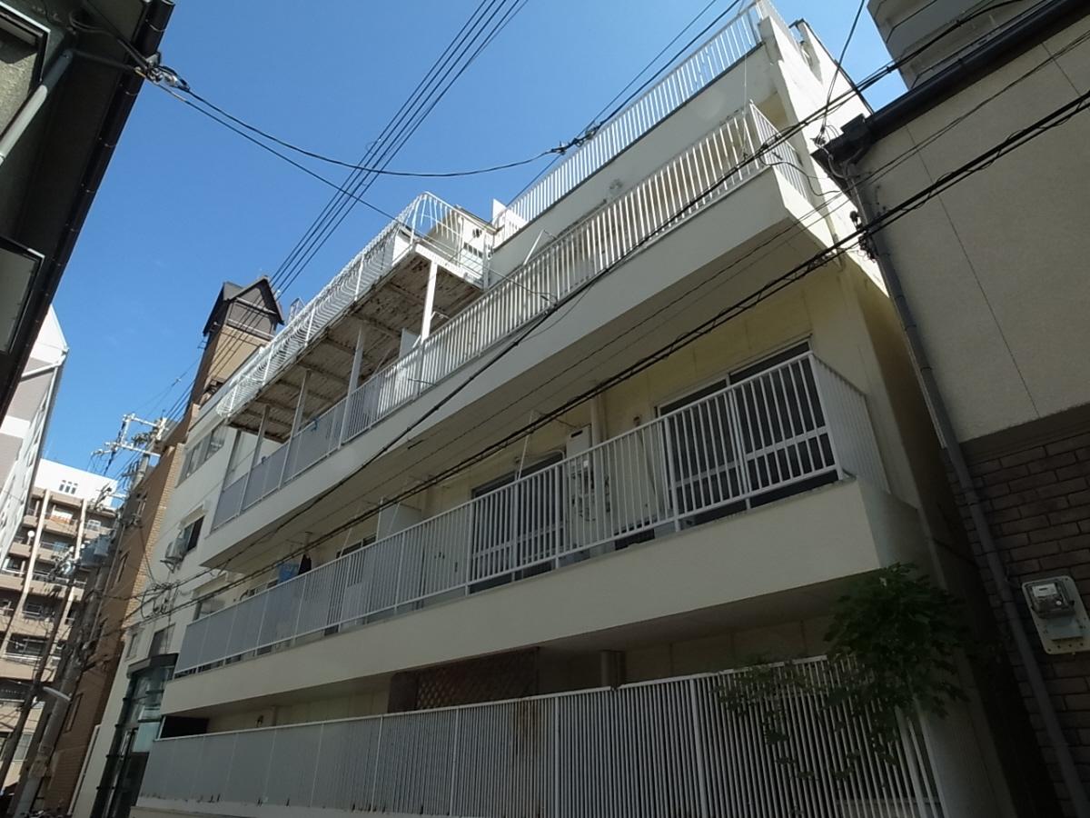 物件番号: 1025808824 エスペランス・ドゥ・花隈  神戸市中央区北長狭通6丁目 1R マンション 外観画像