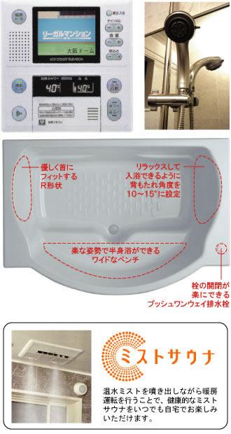 物件番号: 1025854852 リーガル神戸三宮  神戸市中央区磯辺通3丁目 1LDK マンション 画像5