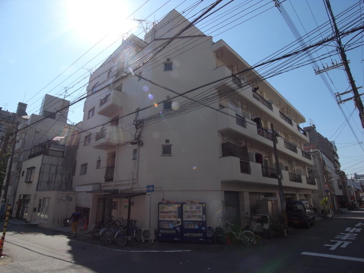 物件番号: 1025811201 シティハイツ二宮  神戸市中央区二宮町2丁目 2DK マンション 外観画像