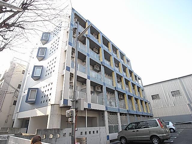 物件番号: 1025844702 AZUL-KOBEⅡ  神戸市兵庫区兵庫町2丁目 1K マンション 外観画像