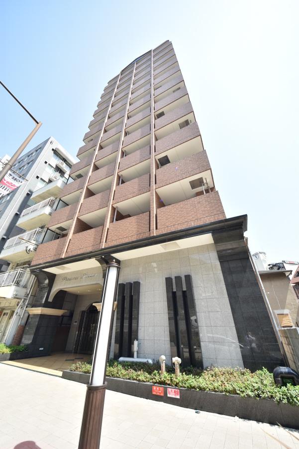 物件番号: 1025883948 プレサンス新神戸  神戸市中央区布引町2丁目 1DK マンション 外観画像