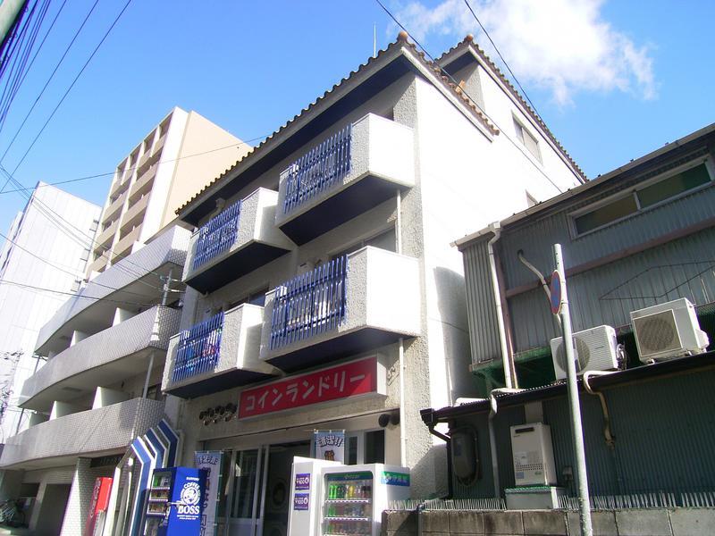 物件番号: 1025821890 ハイツ生田  神戸市中央区生田町2丁目 1DK マンション 外観画像
