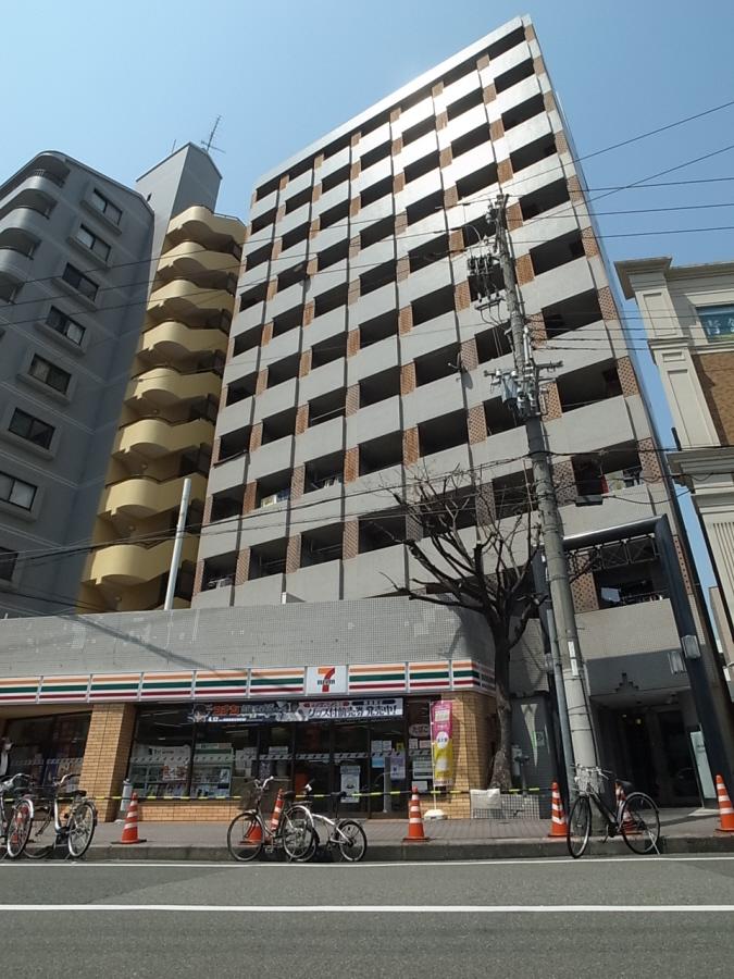 物件番号: 1025826006 ネオダイキョー三宮  神戸市中央区琴ノ緒町2丁目 1R マンション 外観画像
