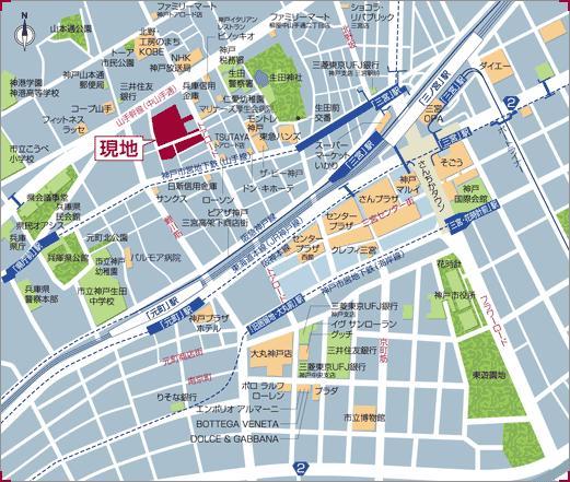 物件番号: 1025835573 トア山手 ザ・神戸タワー  神戸市中央区中山手通3丁目 1LDK マンション 画像1