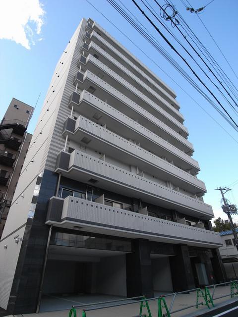 物件番号: 1025834208 アドバンス三宮Ⅱライズ  神戸市中央区八雲通6丁目 1K マンション 外観画像