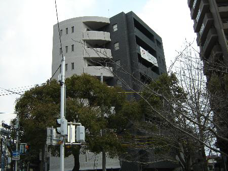 物件番号: 1025861039 WELLBEAR新神戸  神戸市中央区熊内町4丁目 1K マンション 外観画像