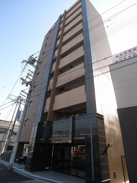 物件番号: 1025883228 ライジングコート三宮マリーナシティ  神戸市中央区東雲通3丁目 1K マンション 外観画像