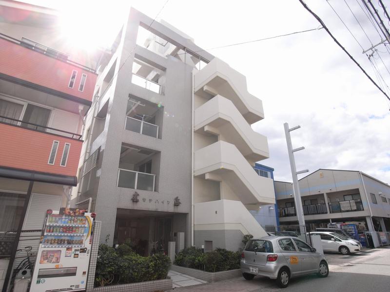 物件番号: 1025839526 サチハイツ  神戸市兵庫区小河通2丁目 1DK マンション 外観画像