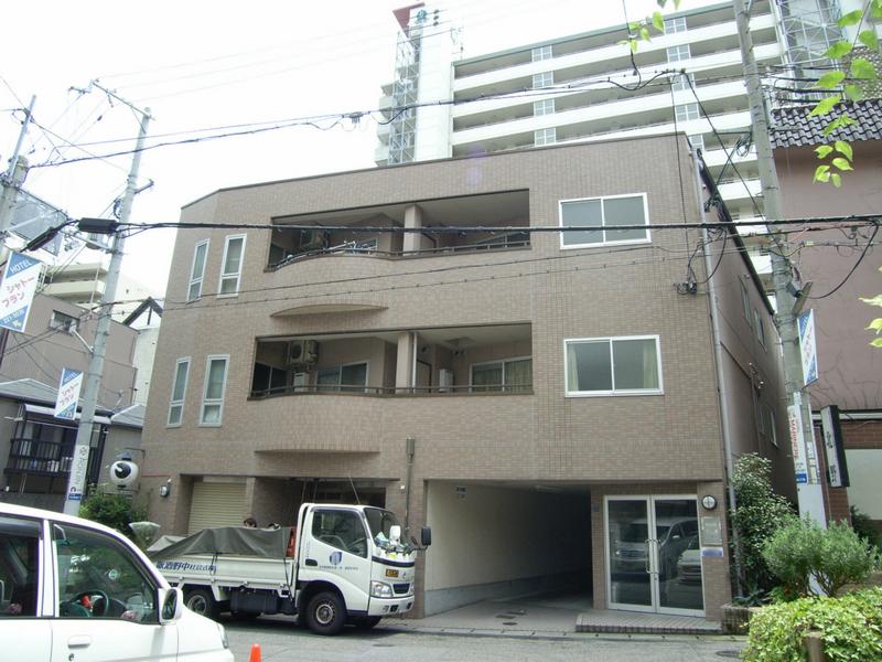 物件番号: 1025848897 サンライズ中山手  神戸市中央区中山手通2丁目 2DK マンション 外観画像