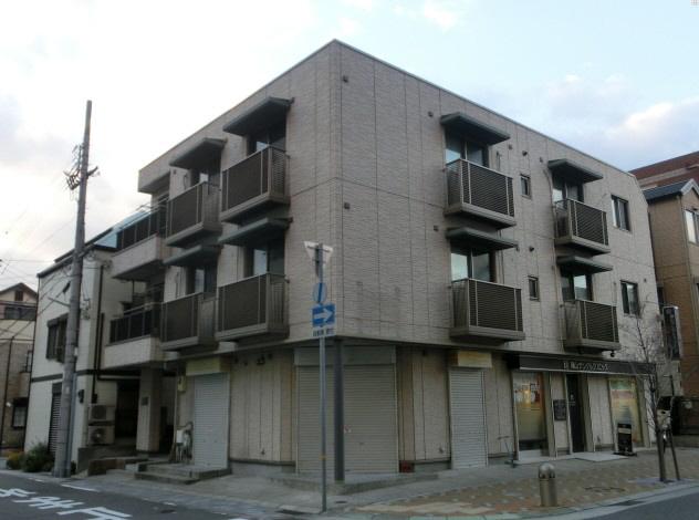 物件番号: 1025844040 カームネスト甲南山手  神戸市東灘区森南町1丁目 2LDK マンション 外観画像