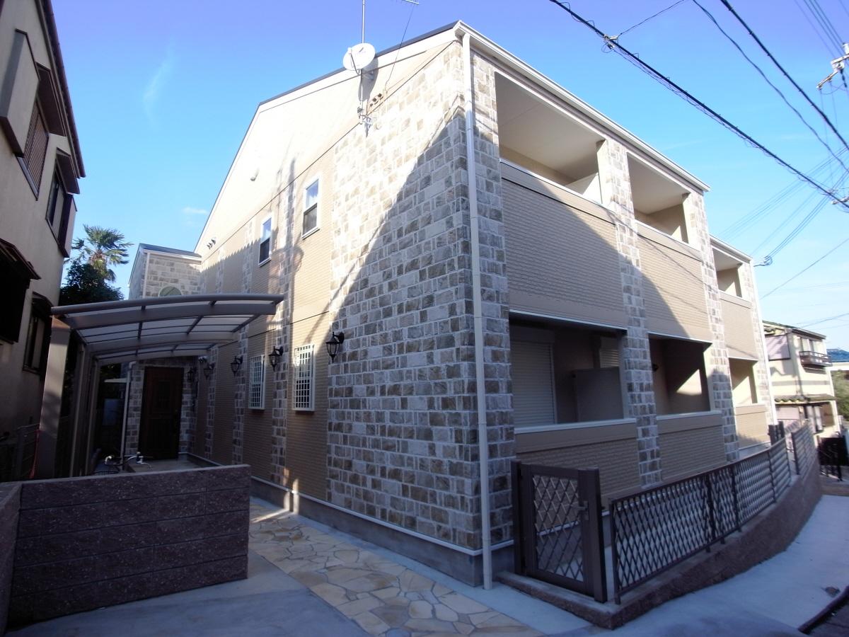 物件番号: 1025847749 KTIレジデンス須磨関守  神戸市須磨区関守町3丁目 1DK ハイツ 外観画像