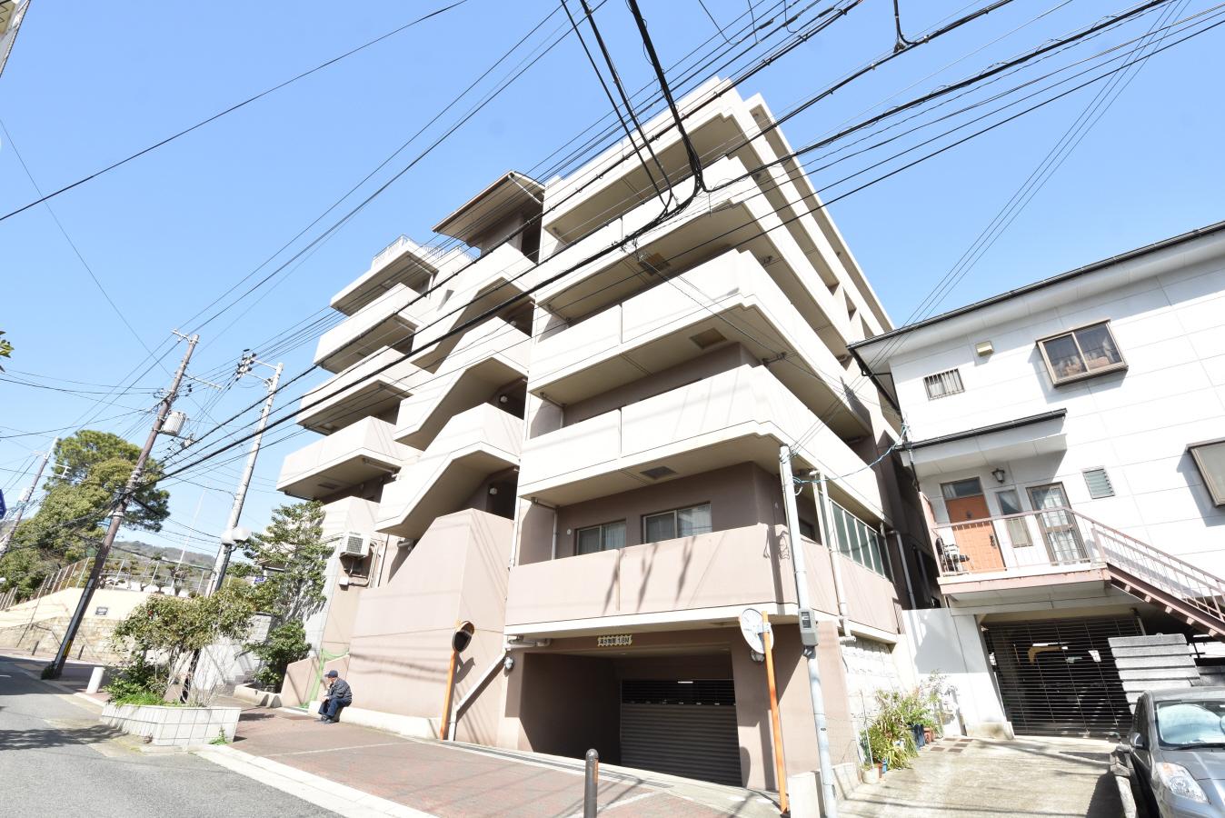 物件番号: 1025850065 神戸中山手ハウス  神戸市中央区中山手通6丁目 2LDK マンション 外観画像