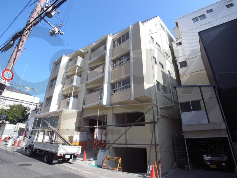物件番号: 1025850198 Leafy北野  神戸市中央区山本通2丁目 2LDK マンション 外観画像