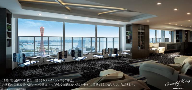 物件番号: 1025883878 神戸ハーバータワー  神戸市中央区海岸通6丁目 3LDK マンション 画像3