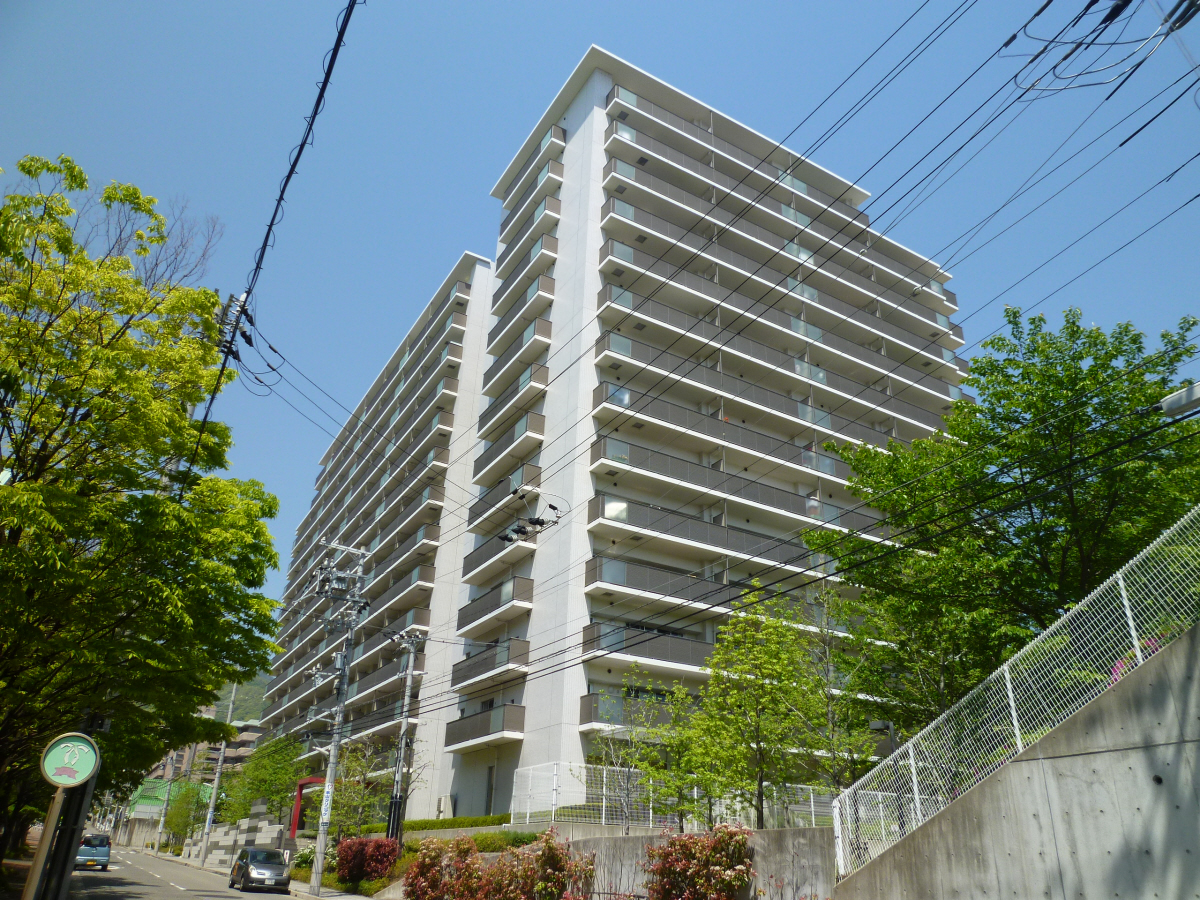 グランスイート神戸NORTH HAT 1310の外観
