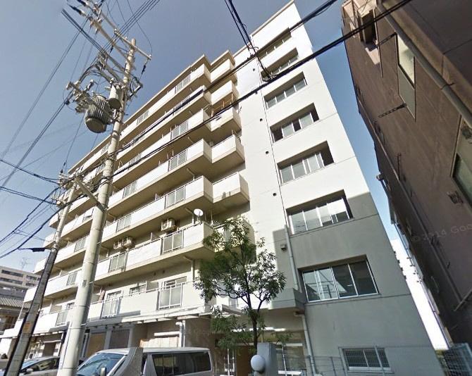 物件番号: 1025883316 グランドハイツ岸本  神戸市中央区日暮通1丁目 2DK マンション 外観画像