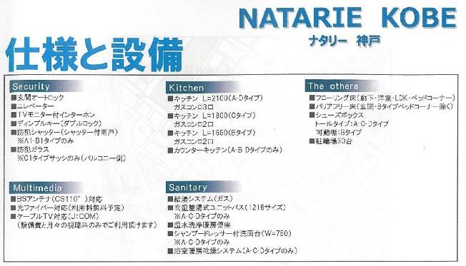 物件番号: 1025858481 NATARIE KOBE  神戸市兵庫区湊町4丁目 1LDK マンション 画像4