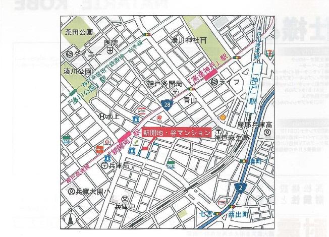 物件番号: 1025858481 NATARIE KOBE  神戸市兵庫区湊町4丁目 1LDK マンション 画像5