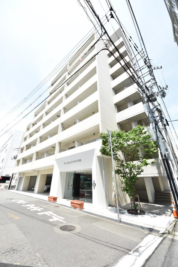 物件番号: 1025859597 Ms'palazzO HAT KOBE  神戸市中央区脇浜町3丁目 1LDK マンション 外観画像