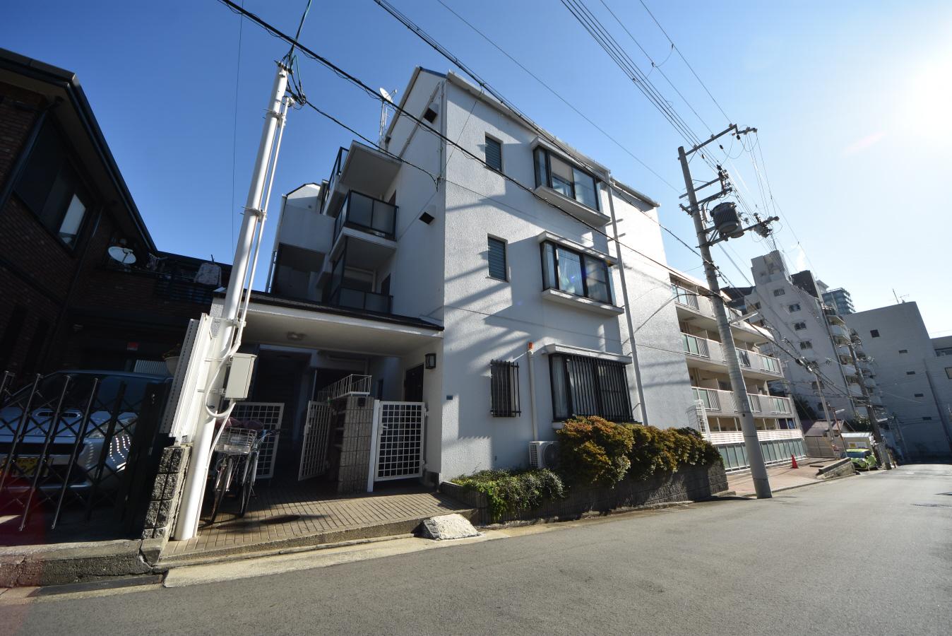 物件番号: 1025861056 神仙閣マンション  神戸市中央区中山手通4丁目 1LDK マンション 外観画像