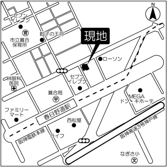 物件番号: 1025861999 パークサイド春日野道駅前  神戸市中央区脇浜町3丁目 1K マンション 画像27
