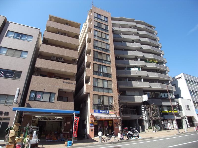 物件番号: 1025881586 鯉川マンション  神戸市中央区下山手通4丁目 3DK マンション 外観画像