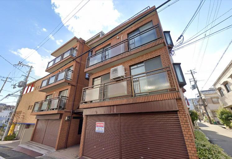 物件番号: 1025865572 マンション松本  神戸市中央区楠町2丁目 2DK マンション 外観画像