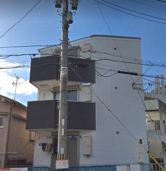 物件番号: 1025869357 ERコート楠町Ⅱ  神戸市中央区楠町8丁目 1R ハイツ 外観画像