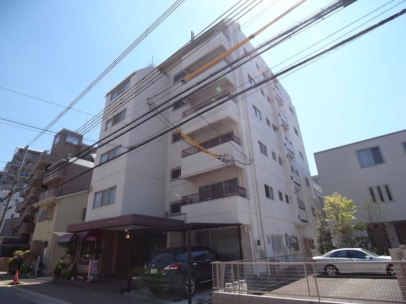 物件番号: 1025883831 山手ハイツ  神戸市中央区中山手通4丁目 3LDK マンション 外観画像