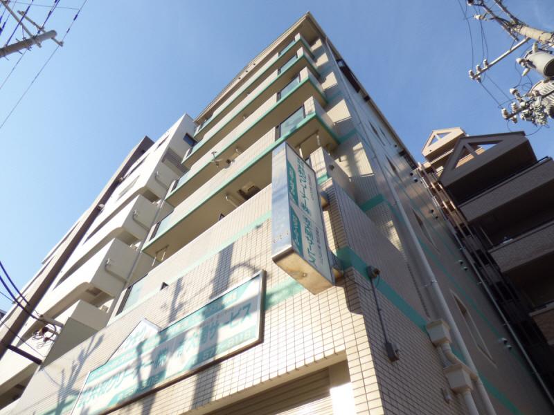 物件番号: 1025882205 ハイムYEBISU  神戸市兵庫区塚本通4丁目 1LDK マンション 外観画像
