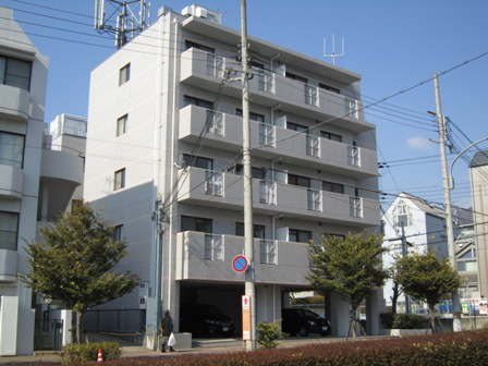 物件番号: 1025872811 メゾンボナミ  神戸市東灘区御影2丁目 2LDK マンション 外観画像