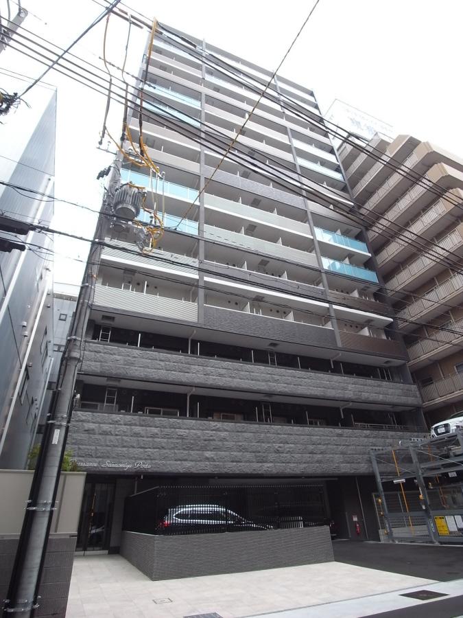 物件番号: 1025874513 プレサンス三宮ポルト  神戸市中央区御幸通2丁目 1LDK マンション 外観画像