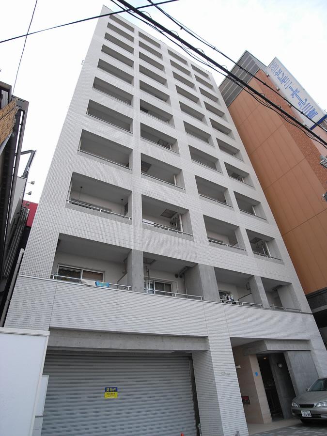物件番号: 1025876641 グラージェ三宮  神戸市中央区旭通5丁目 1K マンション 外観画像