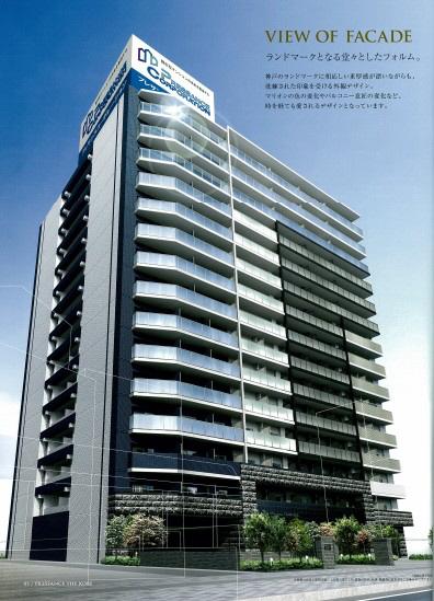 物件番号: 1025883331 プレサンス THE 神戸  神戸市兵庫区西出町 1LDK マンション 外観画像
