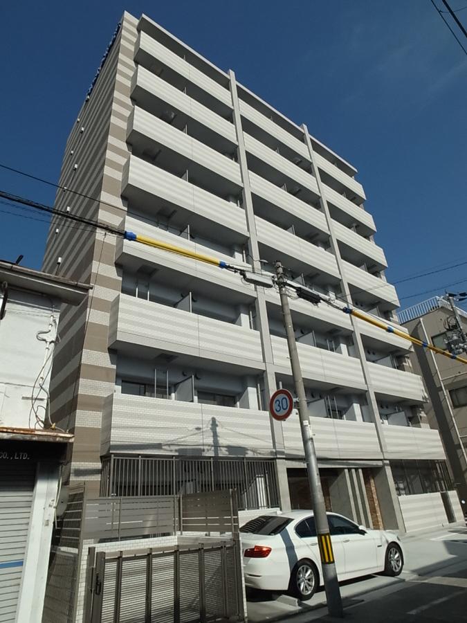物件番号: 1025881544 ファーストフィオーレ三宮EAST  神戸市中央区東雲通5丁目 1K マンション 外観画像